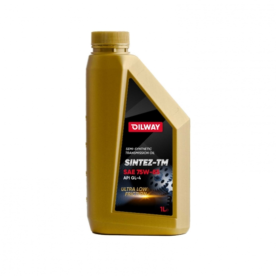 Sintez-TM 75W-85 API GL-4, полусинтетическое