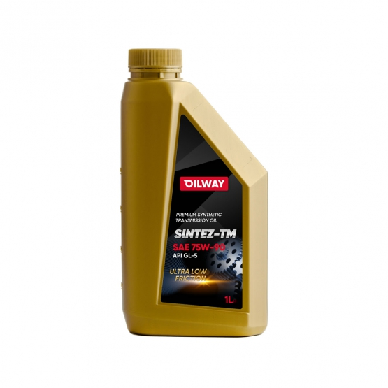 Sintez-TM 75W-90 API GL-4/5, синтетическое