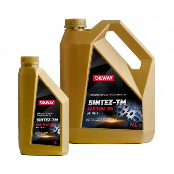 Sintez-TM 75W-90 API GL-5, синтетическое