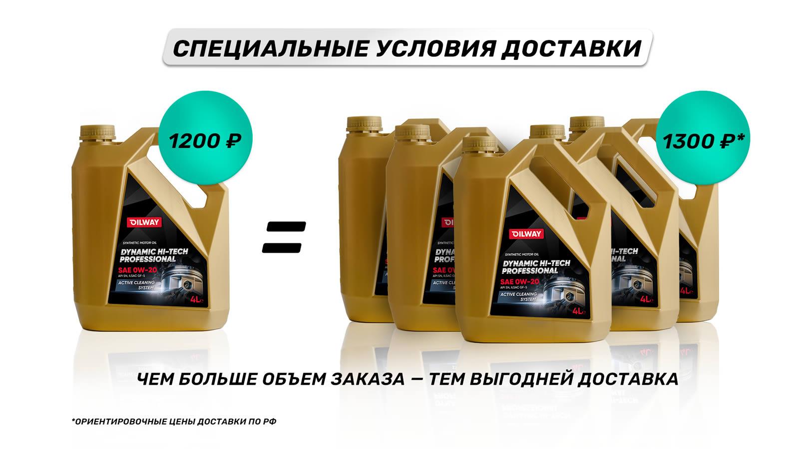 Выгодная доставка по России!